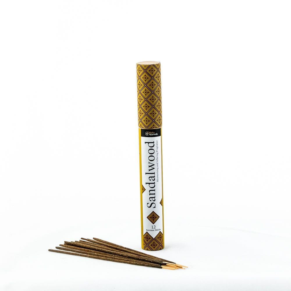 Sandalwood Incense STICKS (12 Incense sticks)