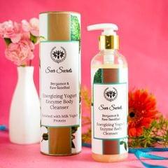 Bergamot & Raw Sandal Energizing Yogurt Enzyme Body Cleanser - 250 ml