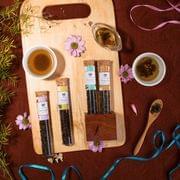Four Flavour Fine Tea Pallette - 80 gm