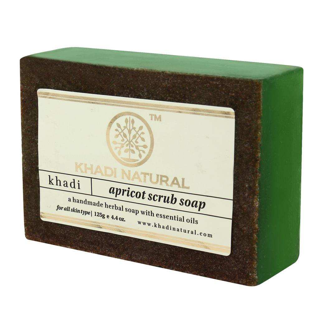 Apricot Scrub Soap - 125 gm