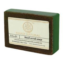 Basil Scrub Soap - 125 gm
