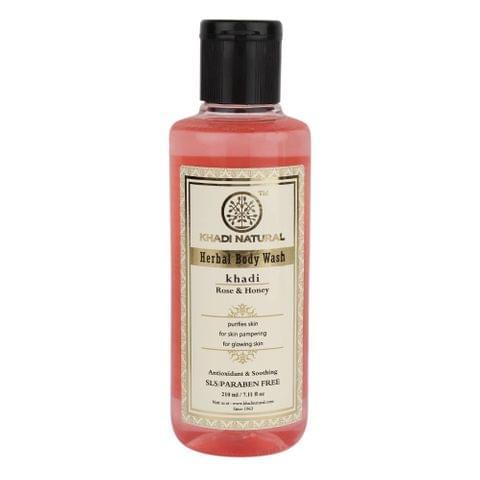 Rose & Honey Body Wash  - 210 ml
