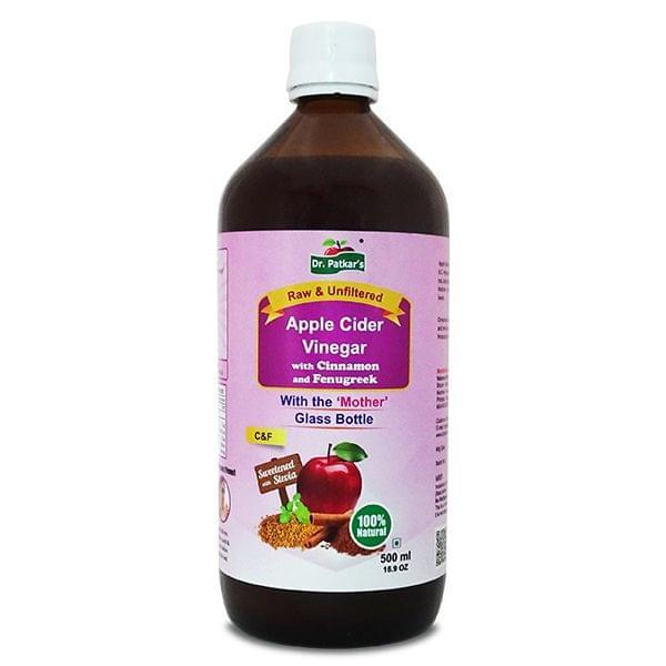 Apple Cider Vinegar with Cinnamon and Fenugreek