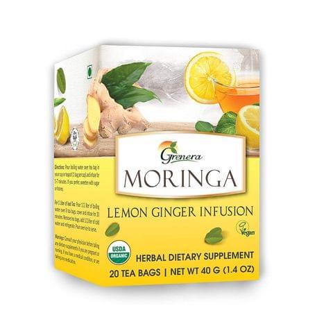 Moringa Lemon Tea (20 Tea bags / box) - 40 gms