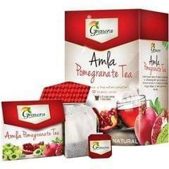 Amla Pomegranate Tea (20 Tea bags / box) - 40 gms
