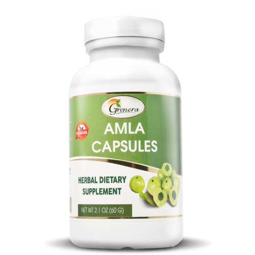 Amla Capsules (120 Counts) - 60 gms