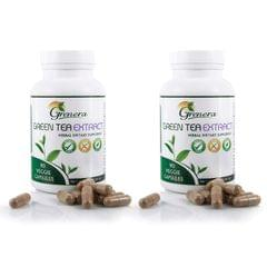 Green Tea Extract Capsules (90 Capsules / Bottle) - 45 gms
