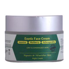 Jasmine, Mulberry & Ashwagandha Exotic Face Cream - 50 gm