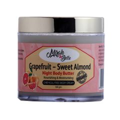 Grapefruit & Sweet Almond Night Body Butter - 100 gm