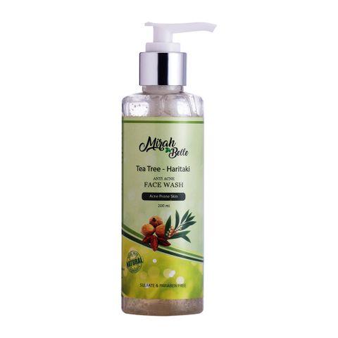 Anti Acne Face Wash with Tea Tree & Haritaki - 200 ml