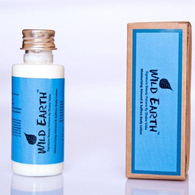 Saffron Almond Moisturising Body Lotion - 100 ml