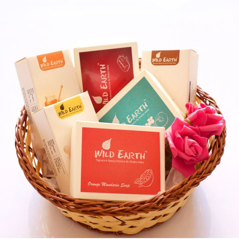 Handmade Soap Basket