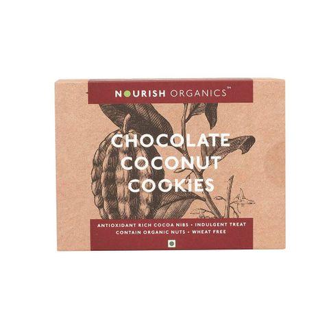Chocolate Coconut Cookies - 150 gms