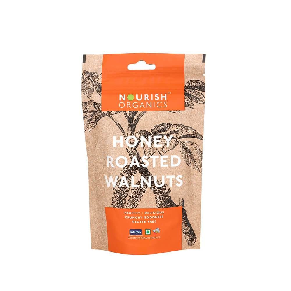 Honey Roasted Walnuts - 100 gms
