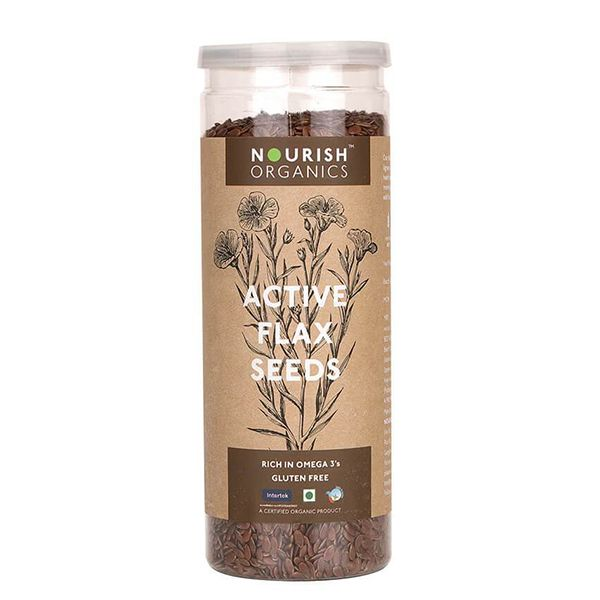 Active Flax Seeds - 180 gms
