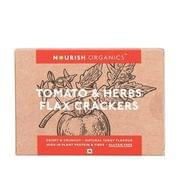 Tomato & Herbs Flax Crackers - 90 gms