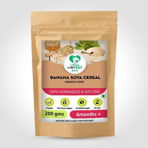 Banana Soya Cereal - 200 gm
