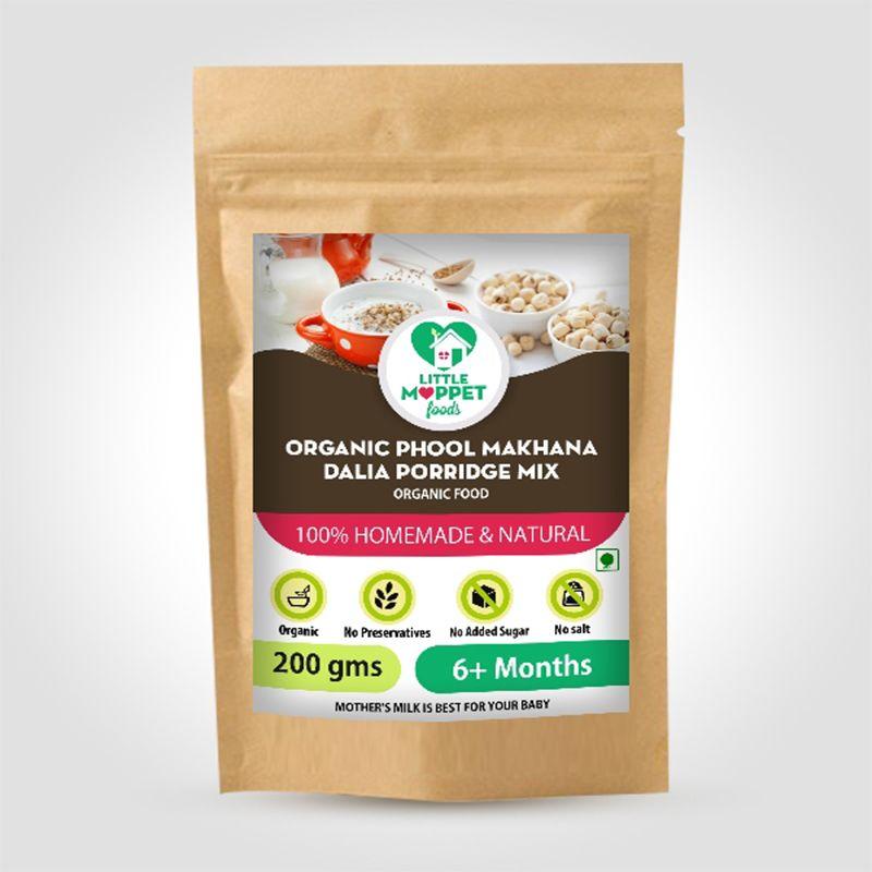 Organic Makhana Dalia Porridge Mix - 200 gm