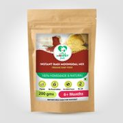 Instant Ragi Moongdal Mix - 200 gm