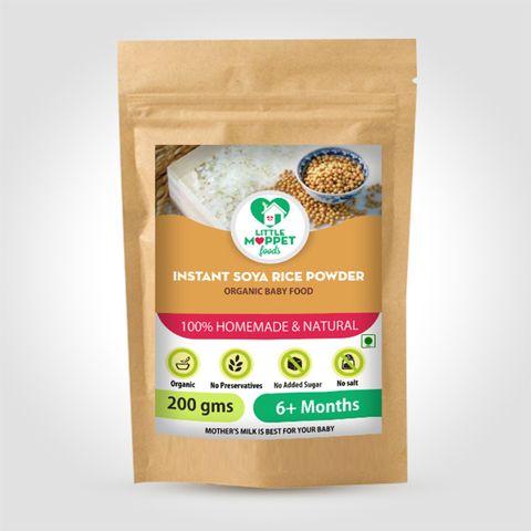 Instant Soya Rice Porridge Powder - 200 gm