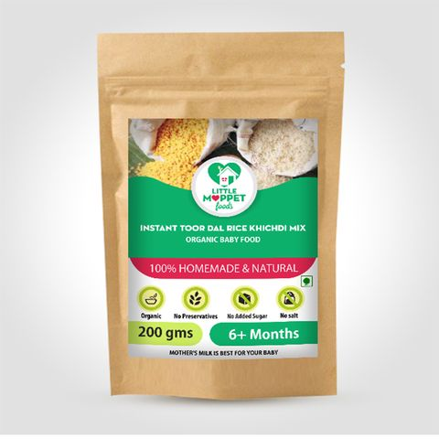 Instant Rice Khichdi (with Toordal) - 200 gm