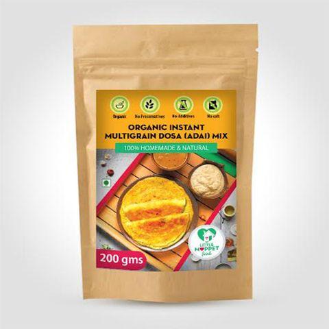 Organic Instant Multigrain Dosa Mix - 200 gm