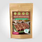 Organic Instant Ragi Dosa Mix - 200 gm