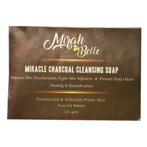 Miracle Charcoal Cleansing Soap - 125 gm