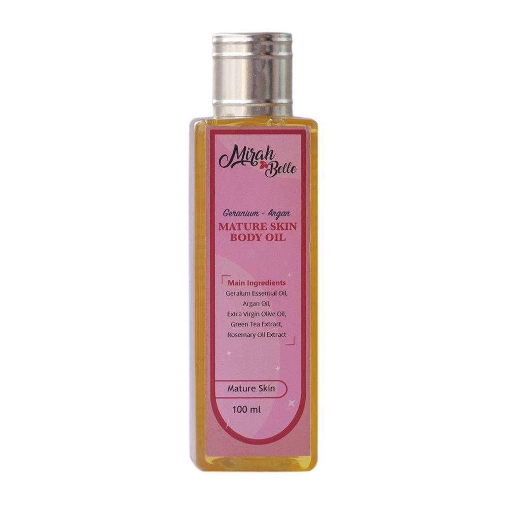 Geranium & Argan Body Oil for Mature Skin - 100 ml