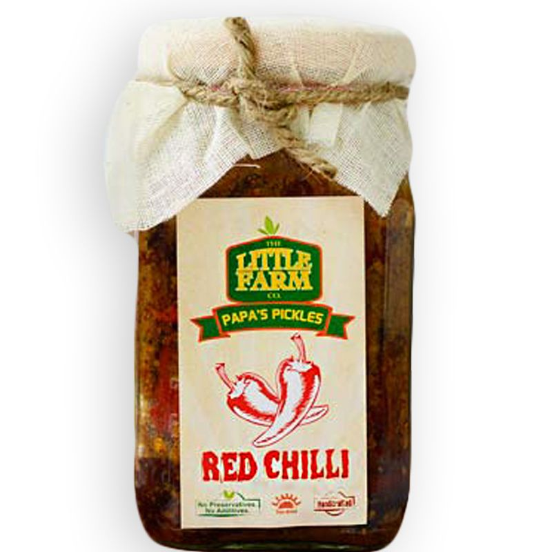 Red Chilli Pickle - 400 gms