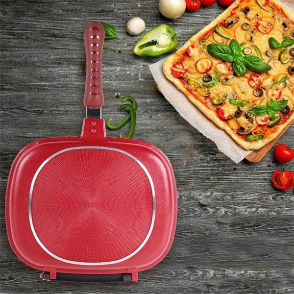 Double Sided – 2 in 1 – Non Stick Pan