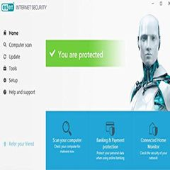 Eset NOD32 3Users Internet Security for Windows 2018/19