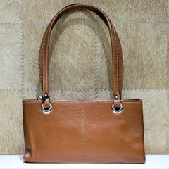 Reddish Brown Small Hand Carry Bag For Women
