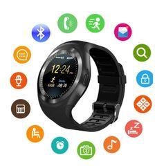 Y1 Smart Watch Support Nano Sim & Tf Card