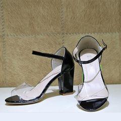 Strap Block Heels For Women