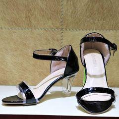 Transparent Strap Heels For Women