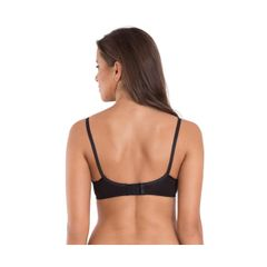 Jockey Black Seamless Cross Over Bra 1721-01