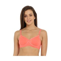 Jockey Blush Pink Seamless Cross Over Bra 1721-01
