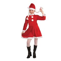 Santa Costume for Girls
