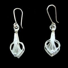 Sweet Silver Filigree Earrings