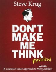 Don't Make Me Think: Revisited, 3ed