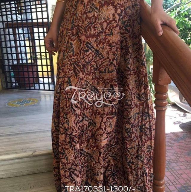 Trayee Kalamkari Full Length Skirt