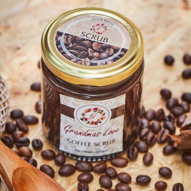 Grandma's Love Coffee Scrub - Cellulite Removal
