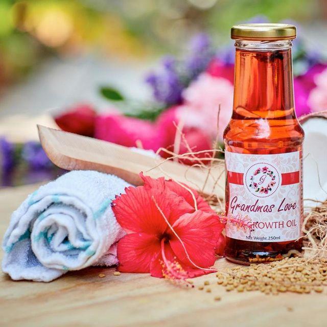 Grandma's Love Hairgrowth Enhancing Oil