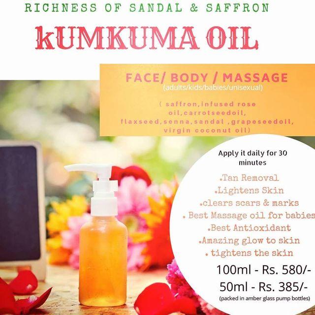 Grandma's Love Kumkuma Oil