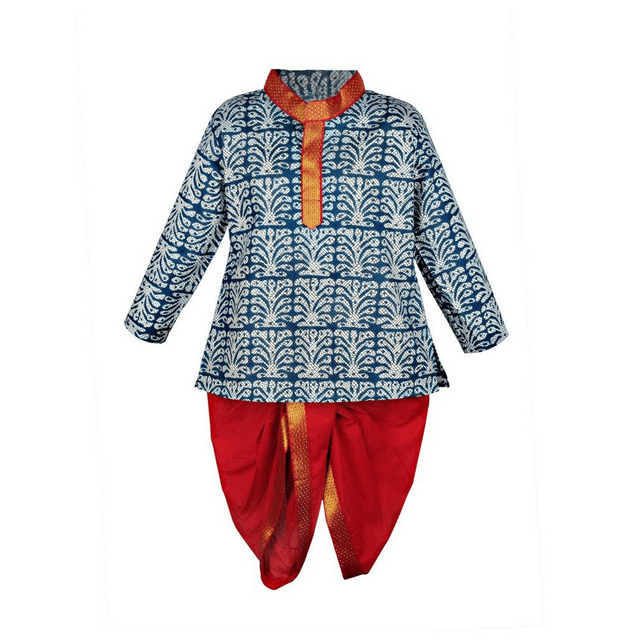 Little Bee  Indigo Dhoti Kurta