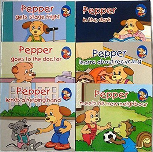 Pepper Series Set 3 (Set of Six Books)