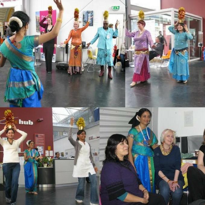Folk Dance Classes for Homemakers