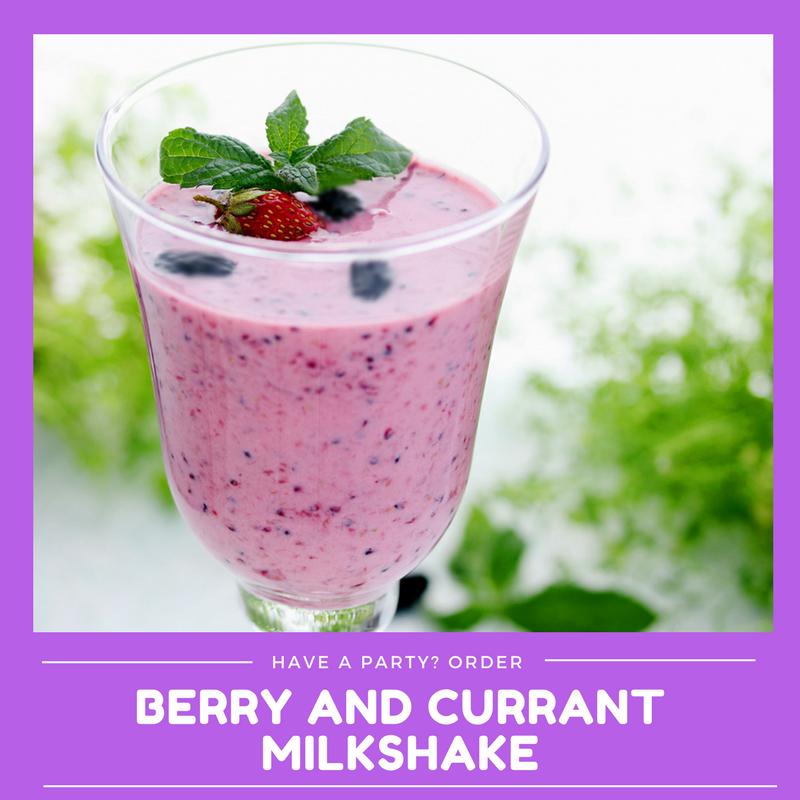 Berry & Currant Milkshake (Min order 30 units)