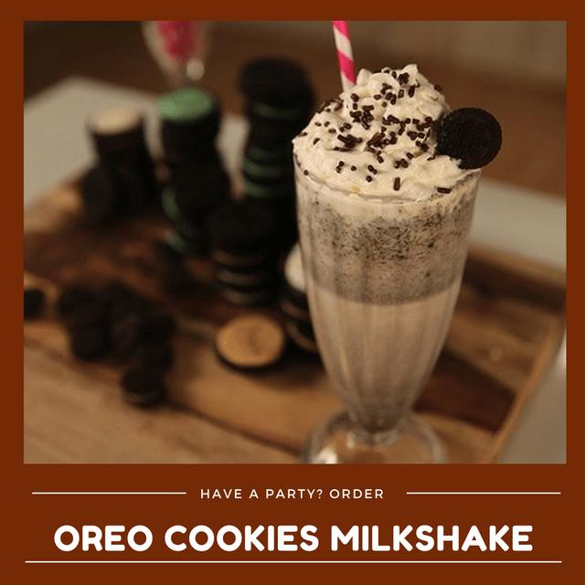 Oreo Cookies Milkshake (Min order 30 units)